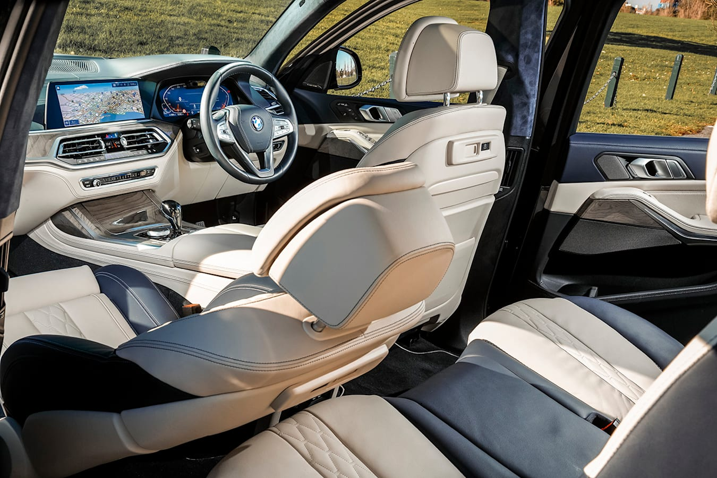 2019 bmw x7 xDrive30d interior