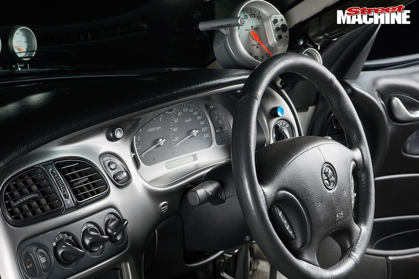 Holden VY ute interior