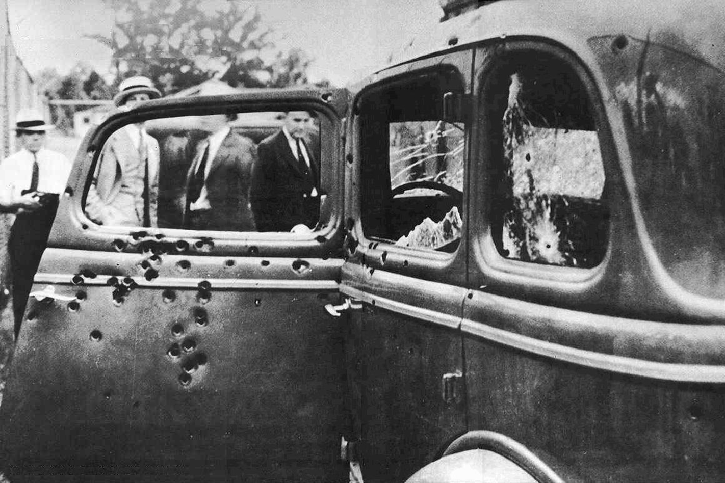 Bonnie and Clyde's Ford V-8