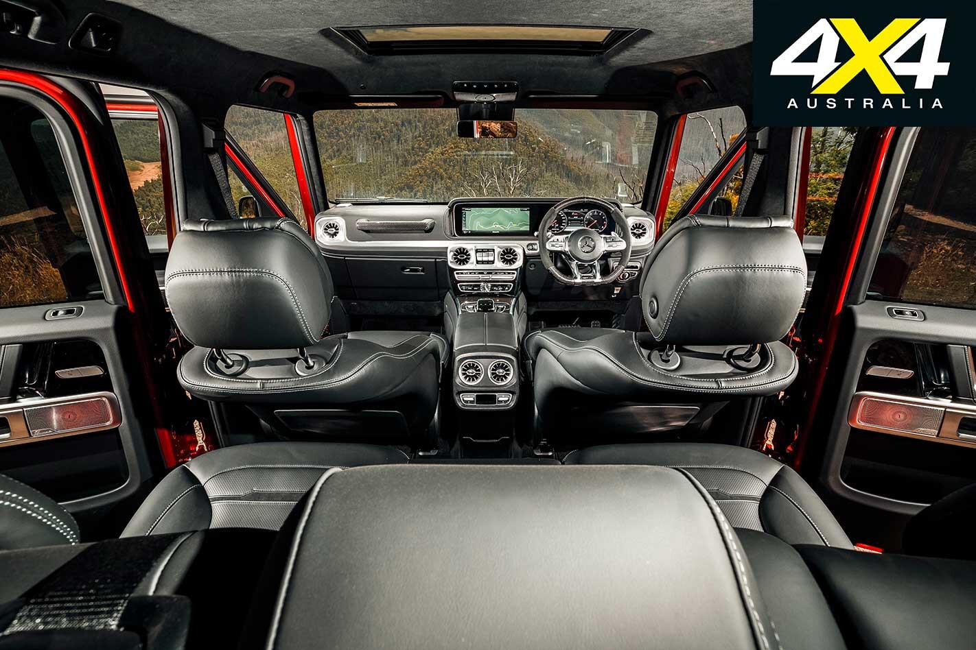 2019 Mercedes AMG G 63 Interior Jpg