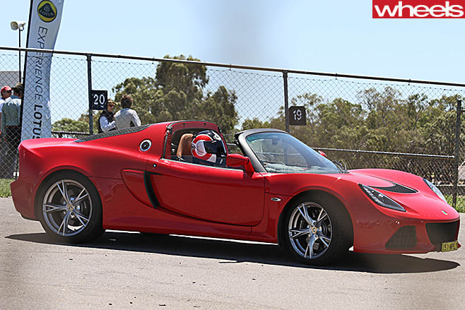 Lotus -Exige -side -parked