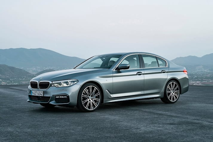 BMW 5 Series 2017 Front Side Jpg