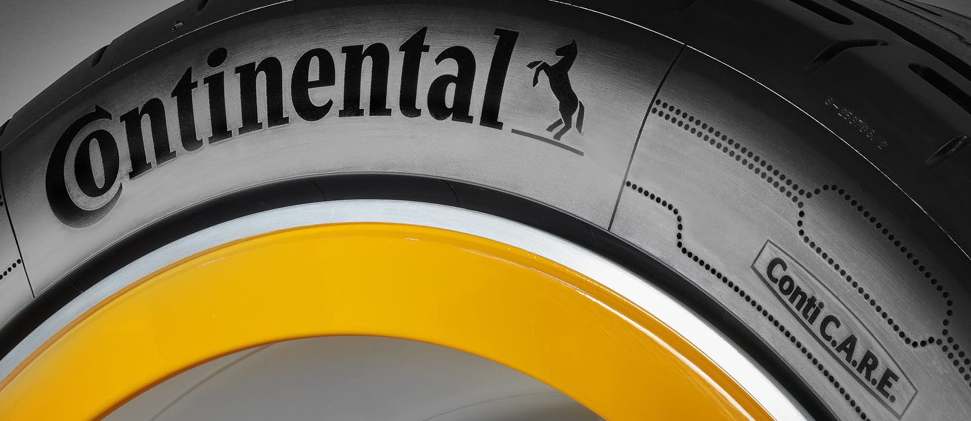 Continental self-inflating tyre