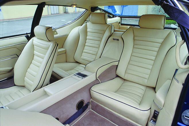 1968 Lamborghini Espada interior