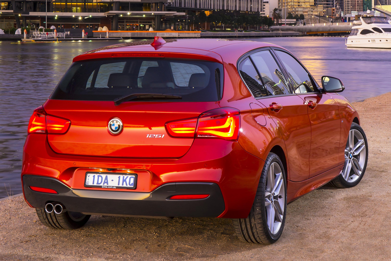 BMW125i REAR