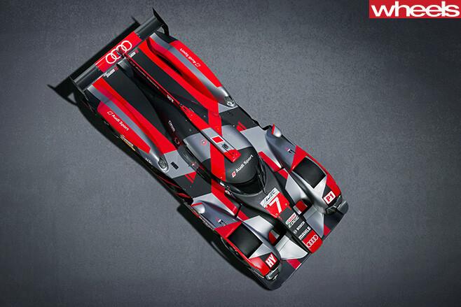 Audi -R18-LMP1-car -top
