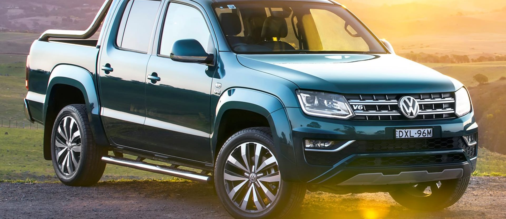 2019 VW Amarok 580 Front Side Static Jpg