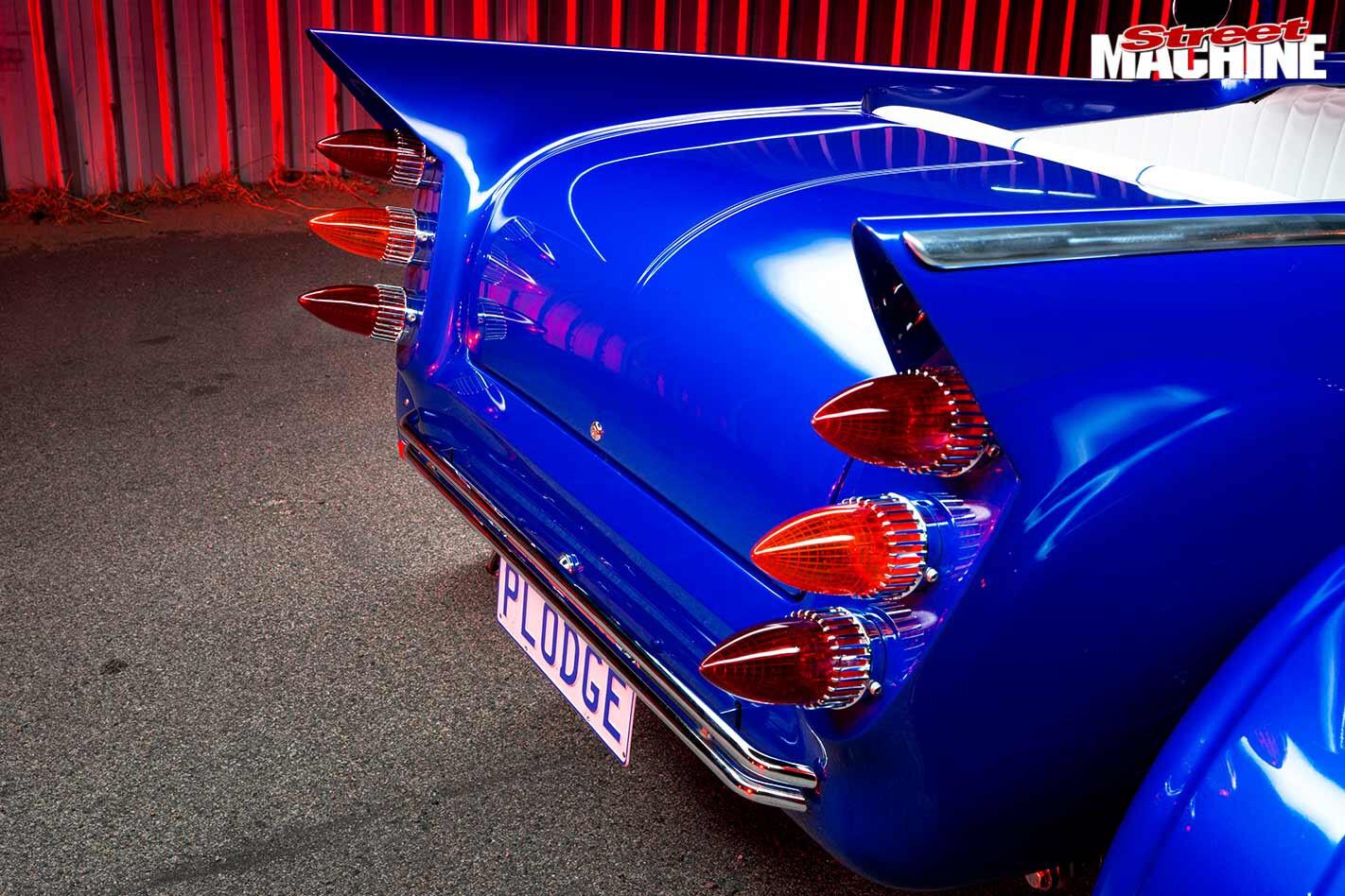 Dodge Roadster Voodoo fins