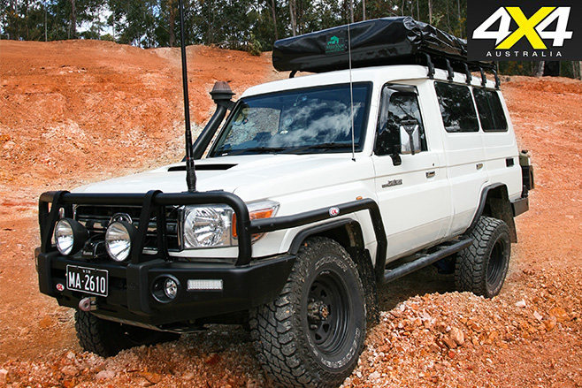Lifted troopy