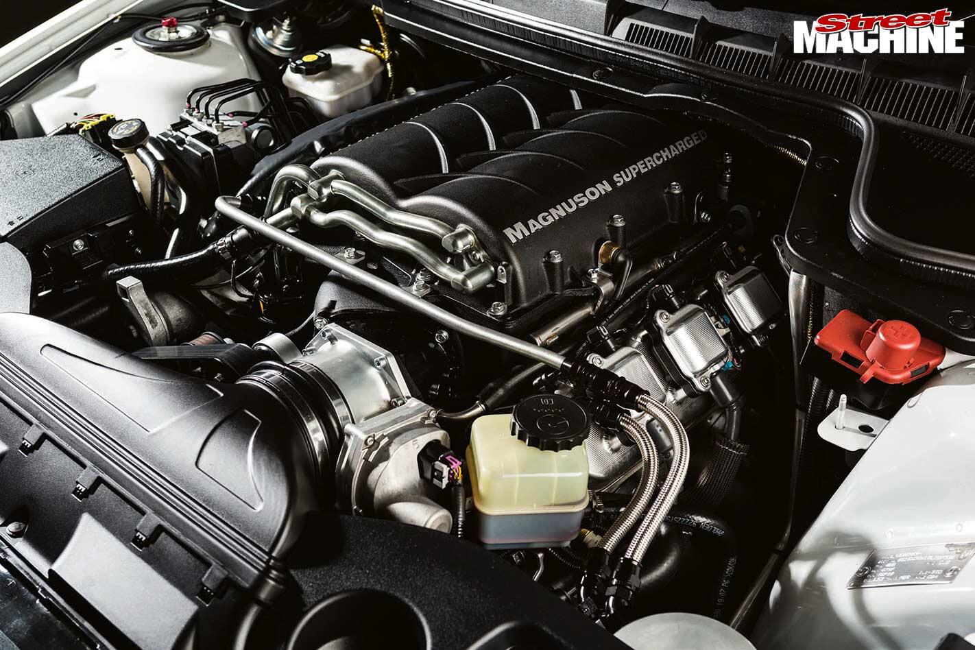 HSV GTS engine