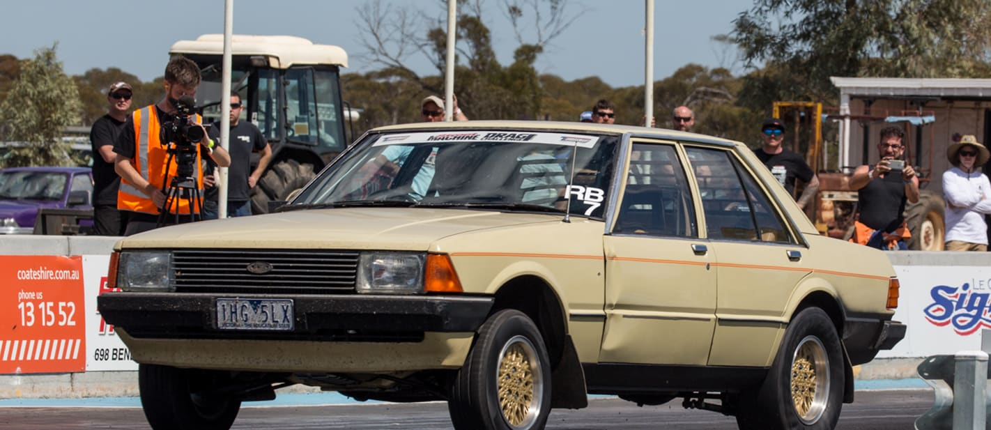 ford xd falcon drag challenge strip 3 nw