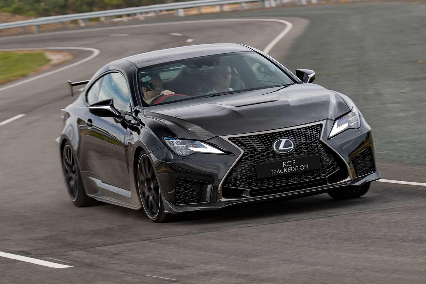 2019 Lexus RC F Track Edition Australian pricing