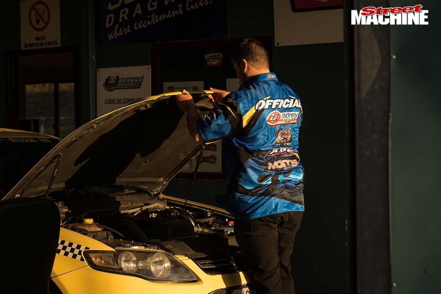 carnage turbo taxi sydney scrutineer