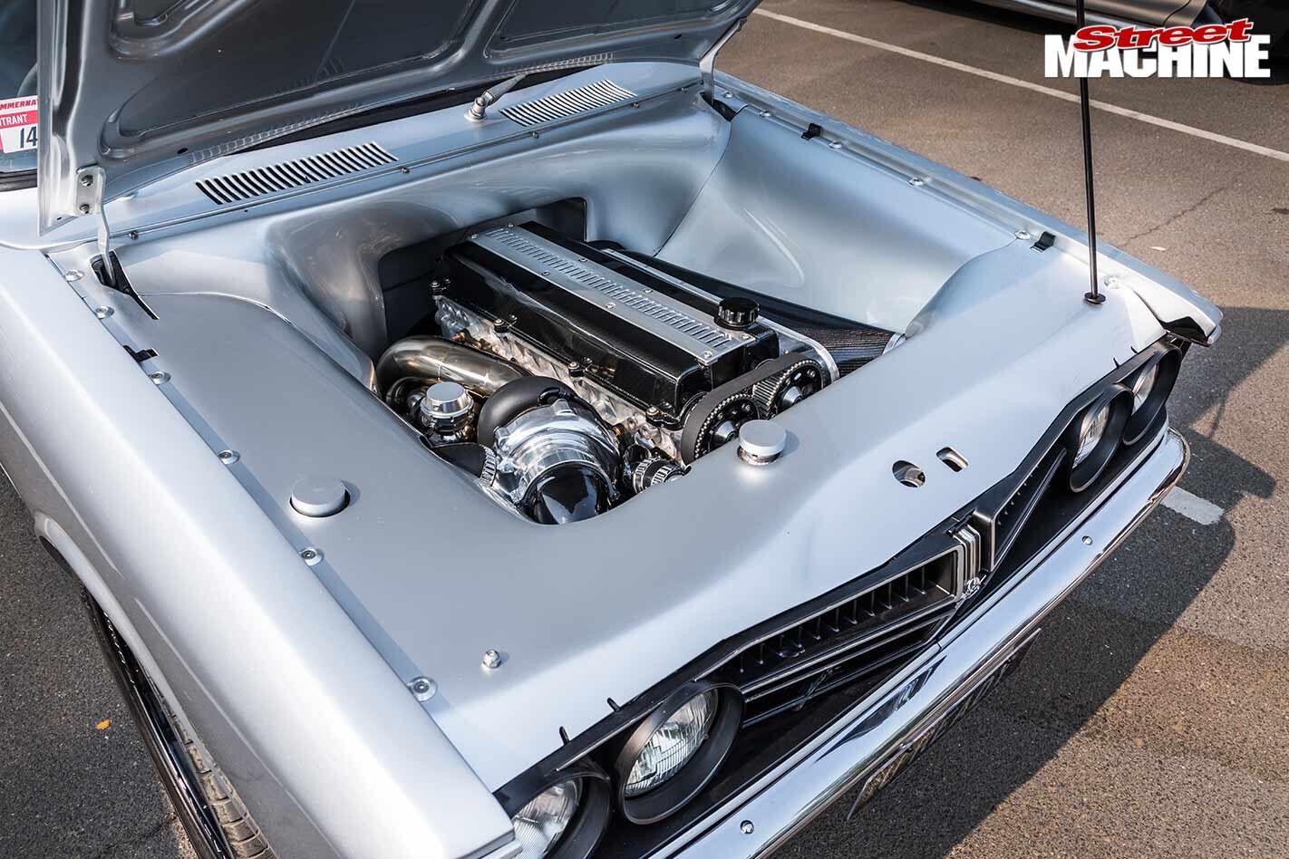 Toyota Corona engine bay