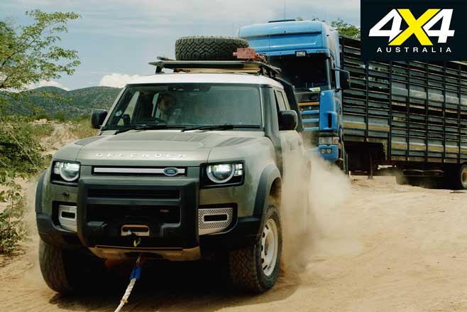 Land Rover Defenders Stranded Truck Pull Jpg
