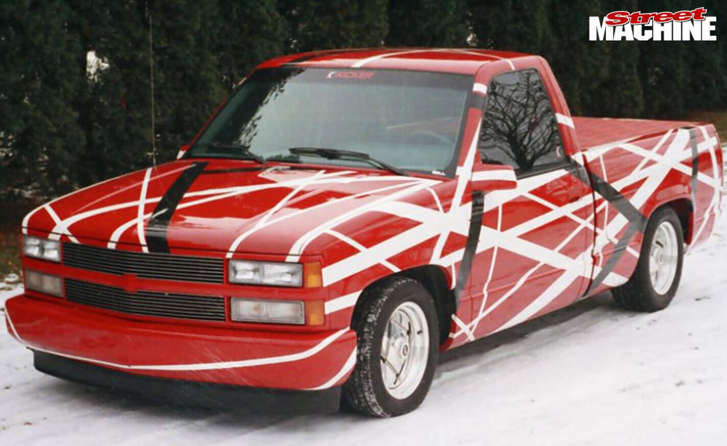 Eddie Van Halen's Chev 1500 pickup