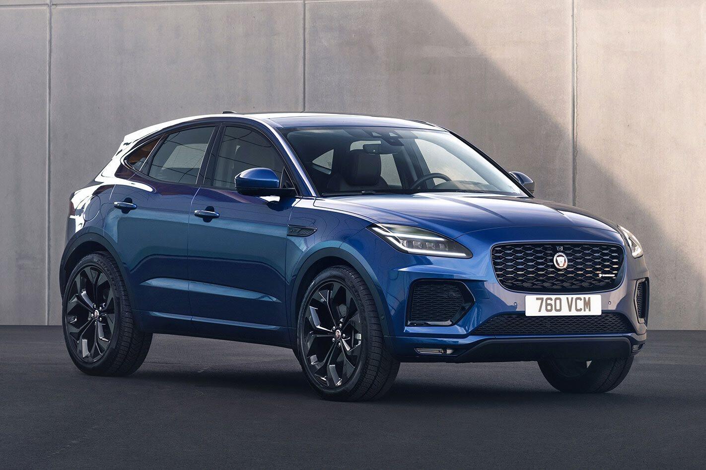 Jaguar E-Pace updated 2021