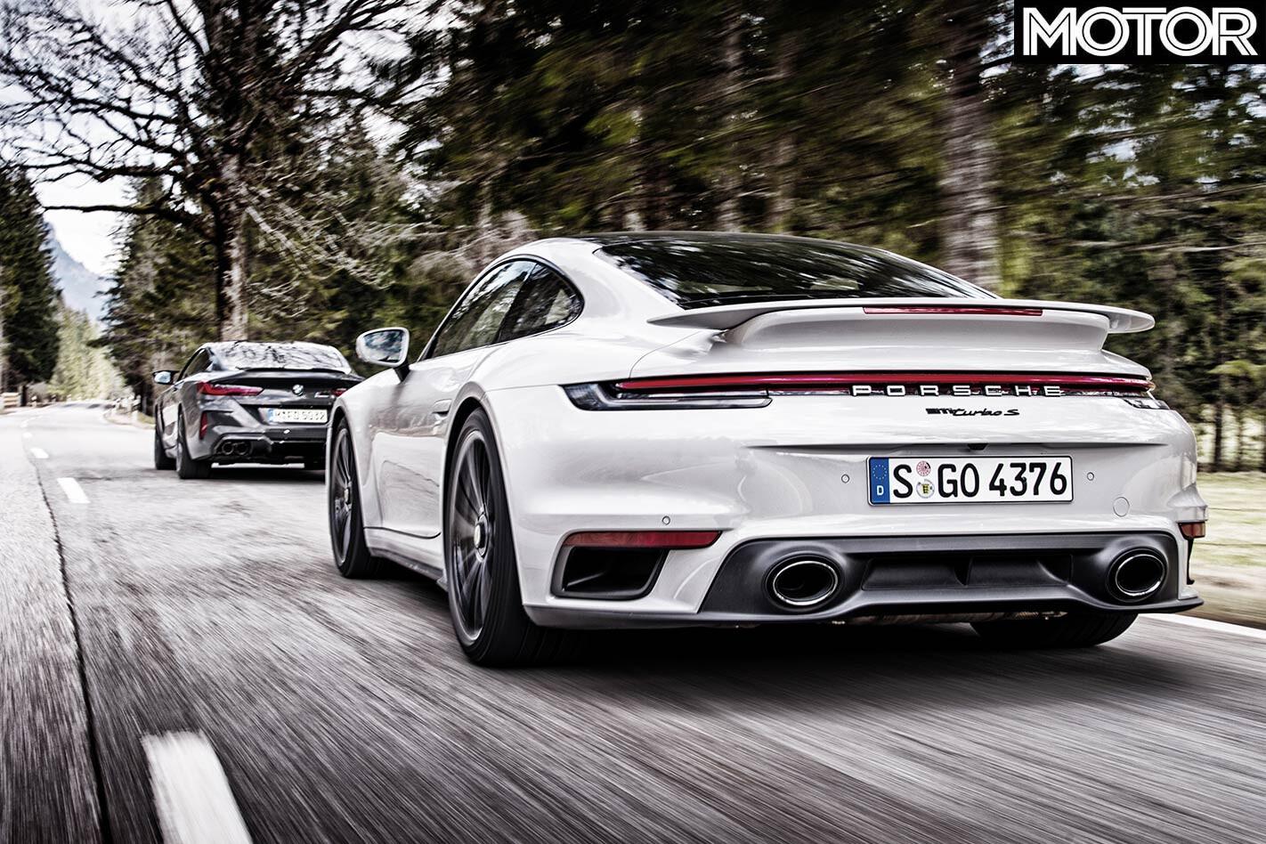 BMW M8 Competition vs Porsche 911 Turbo S