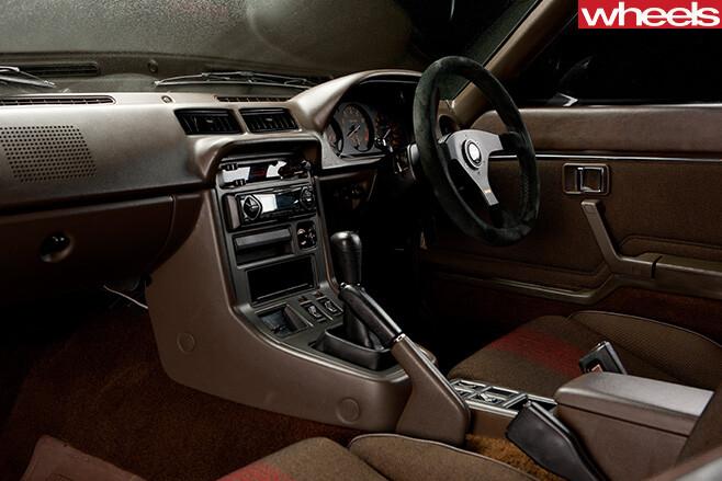 Mazda -RX-7-interior