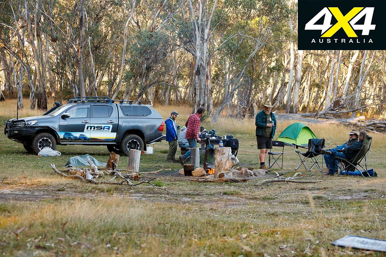 Victorian High Country 4 X 4 Adventure Series Camping Jpg
