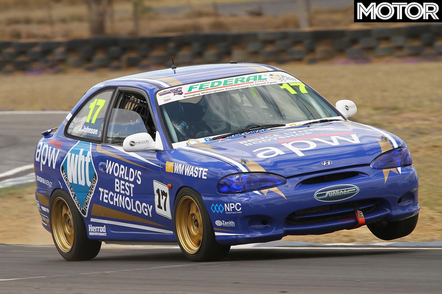 Hyundai Excel Race Car Jpg