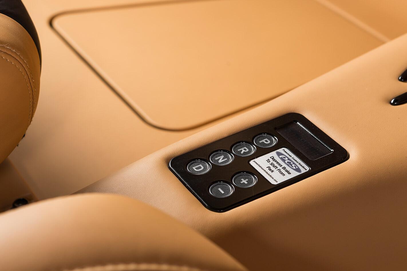 gear selector panel