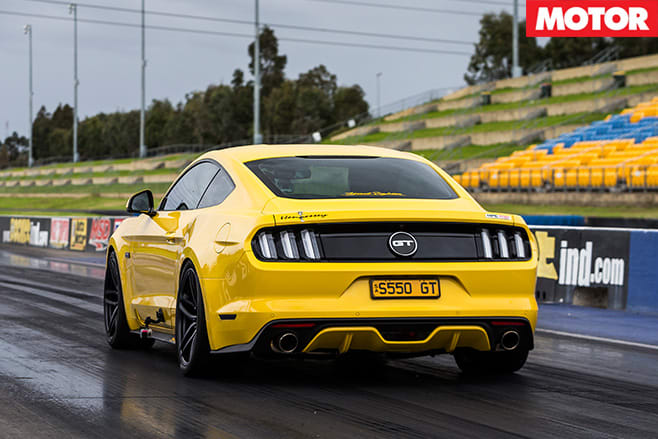 Hennessey Streetfighter Ford Mustang GT rear