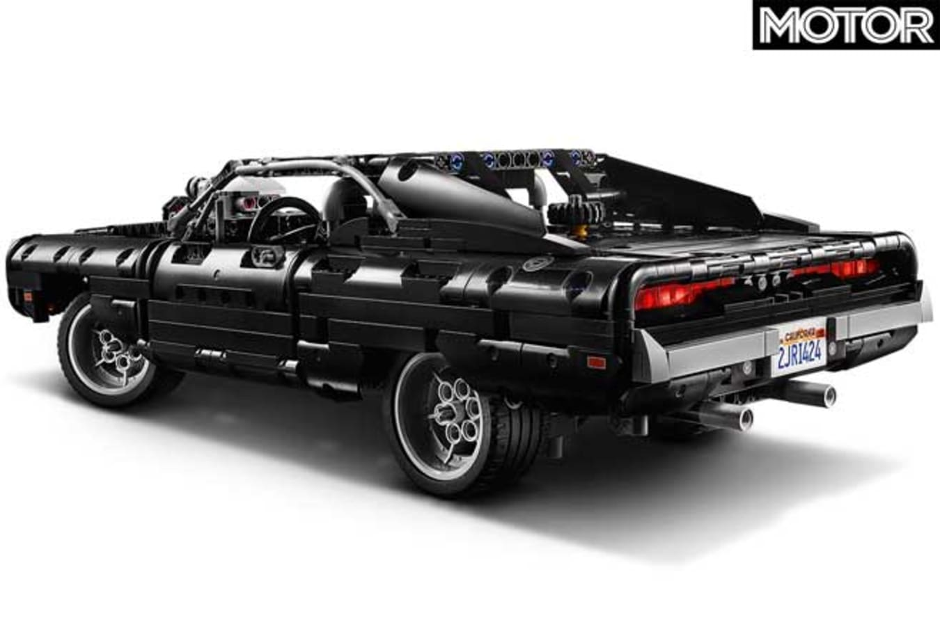 Lego Technic Fast Furious Dodge Charger Rear Jpg
