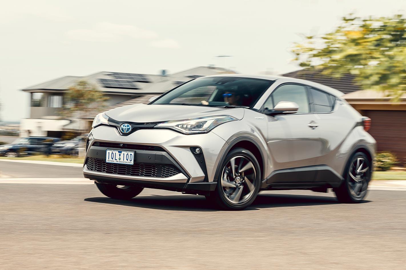 Toyota C-HR onroad