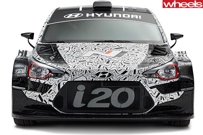 Hyundai -i 20-WRC-edition -front -grille