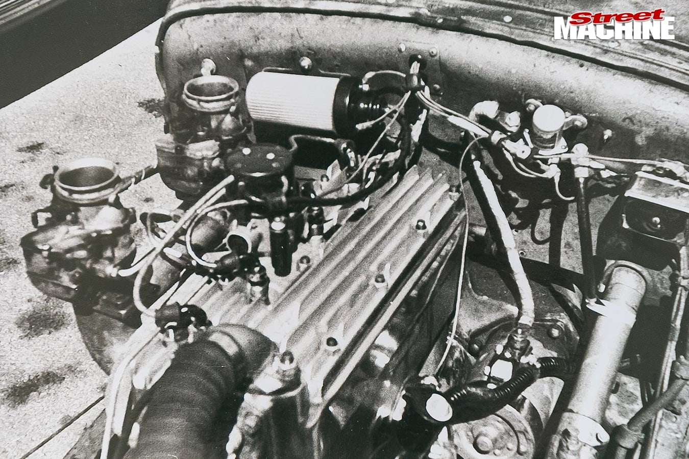 Ford Model A coupe engine