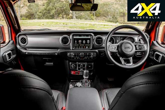 2020 4 X 4 Of The Year Jeep Wrangler Rubicon Interior Jpg