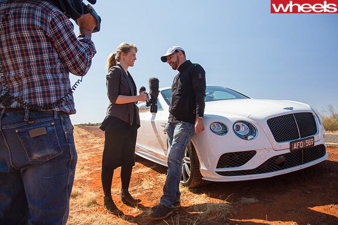 Bentley -continental -GT-driving -on -Stuart -Highway -NT-Ben -Oliver