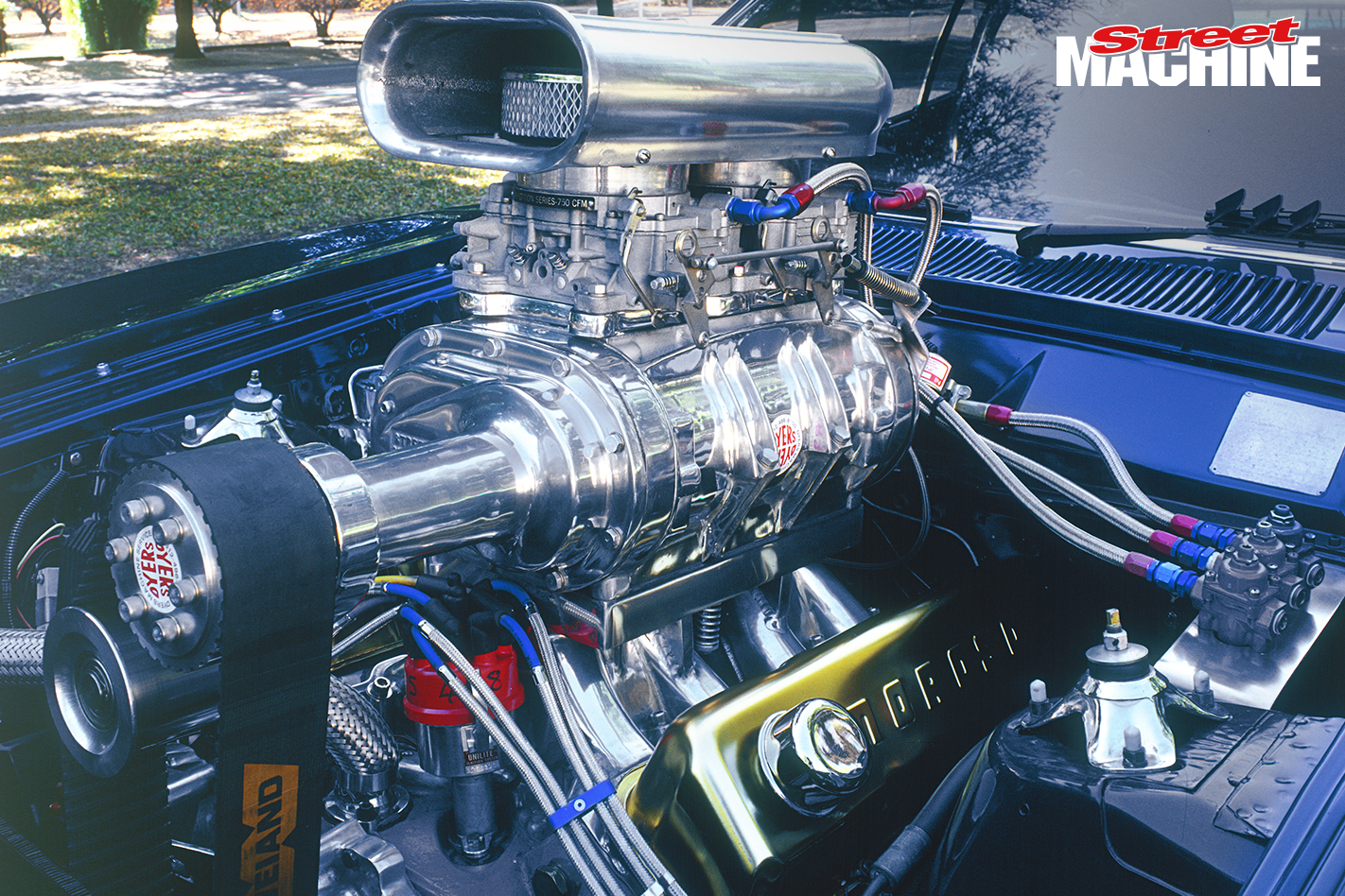 Ford XC Falcon Coupe Supercharged Engine
