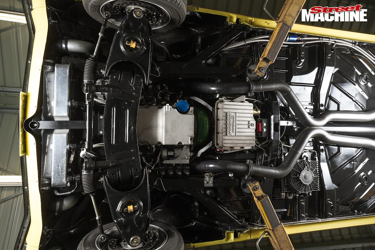 Holden -hk -monaro -underneath