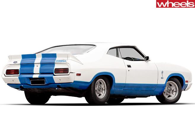 Ford -XC-Falcon -Cobra -side -rear