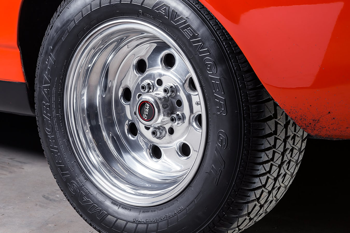 Ford Falcon XW ute wheel
