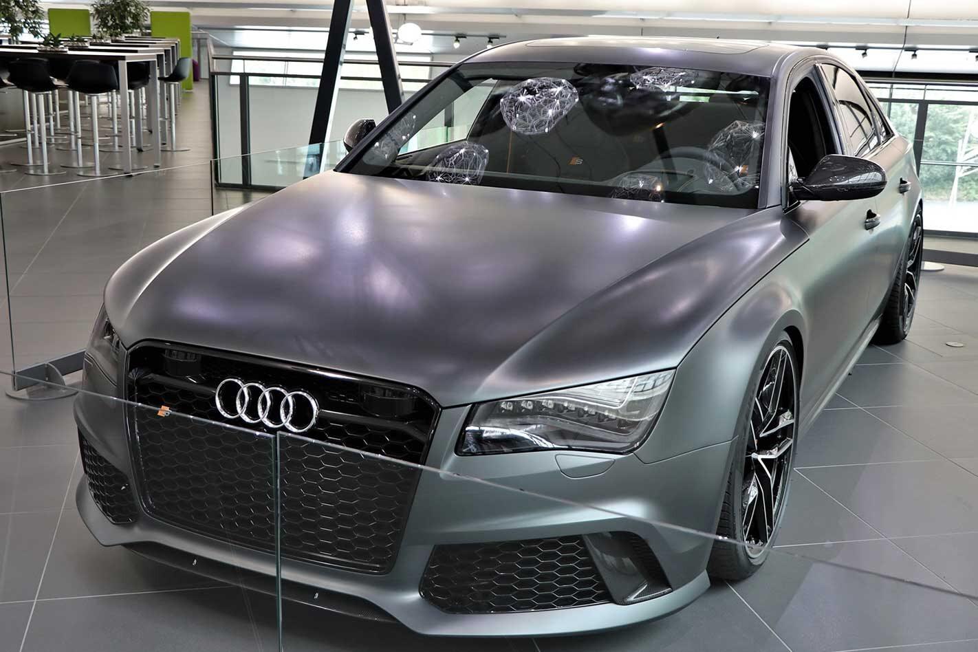 2013 Audi RS8 prototype revealed