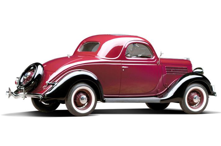 1932 Ford Deuce V8 Coupe