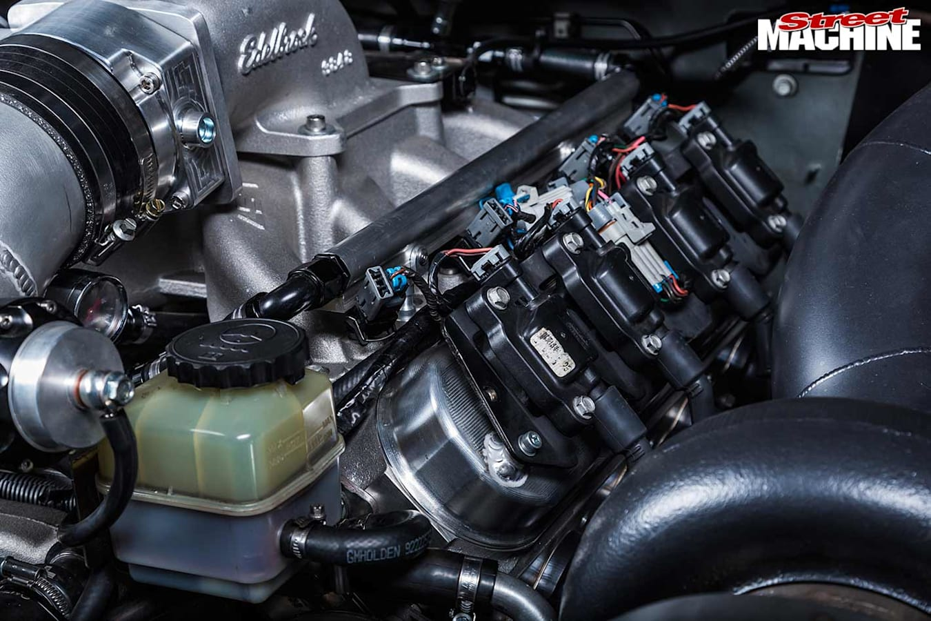 Holden VE Commodore engine