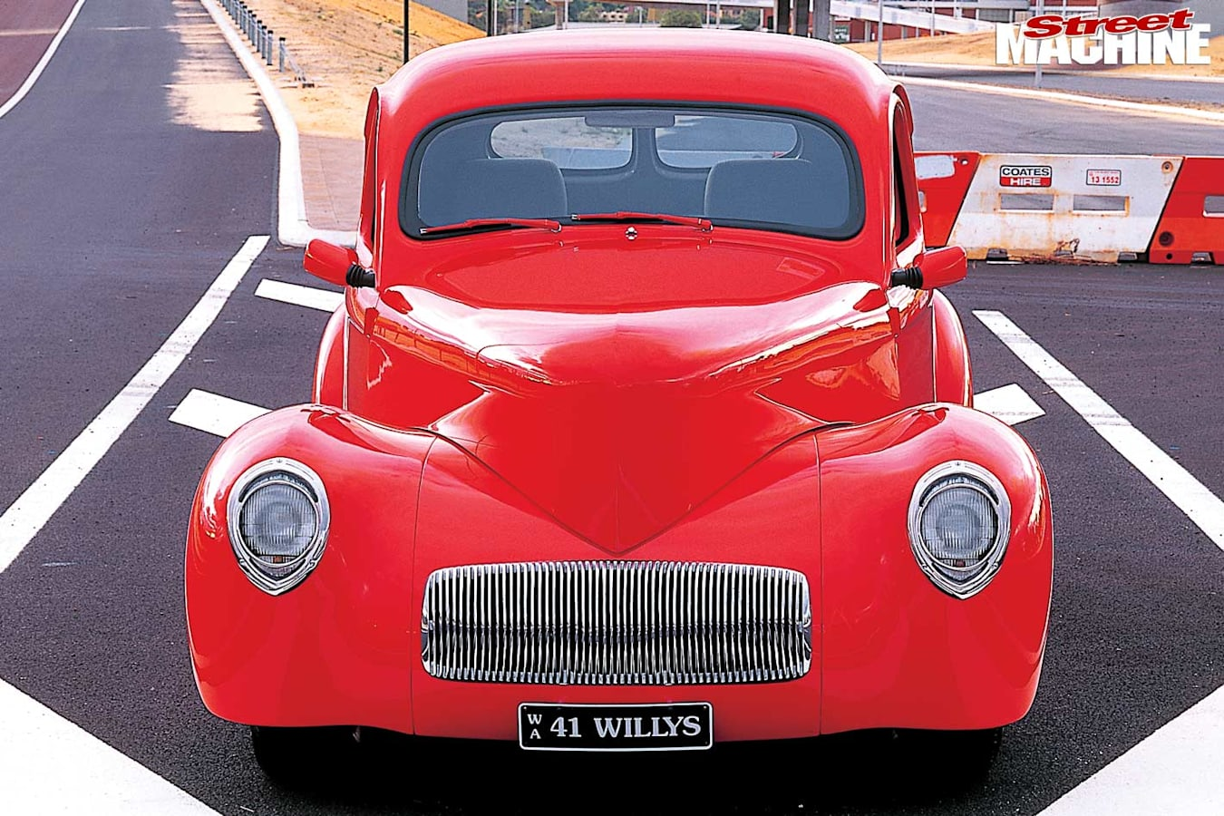 Willys coupe front
