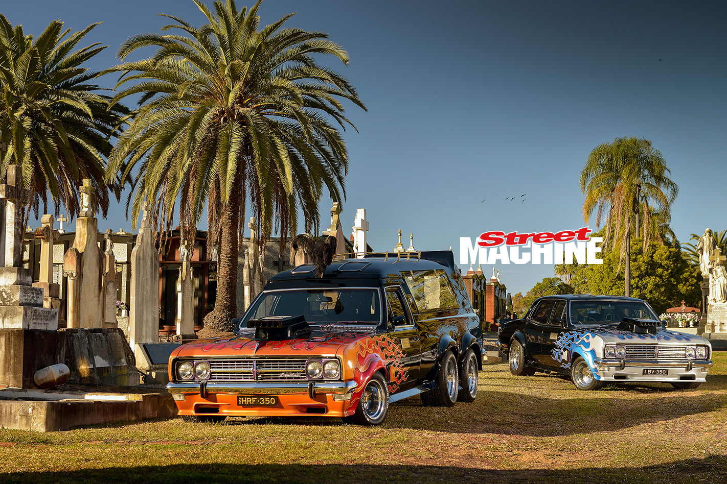 Old Holden Hearses
