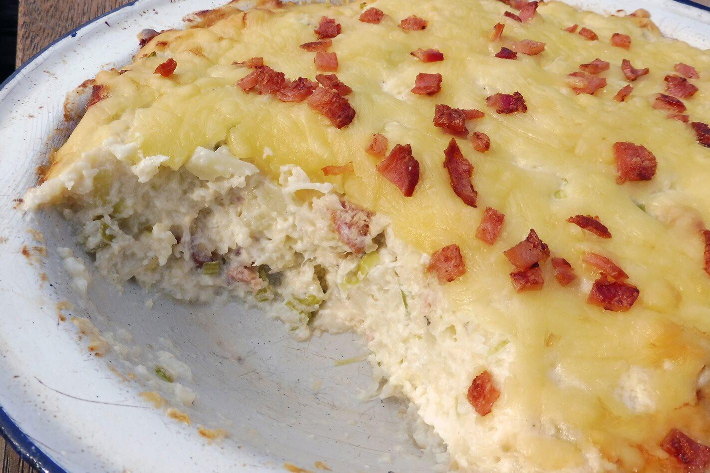 Recipe: Cauliflower, cream cheese and sour cream
