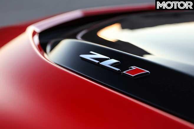 2019 Chevrolet Camaro ZL 1 Bonnet Badge Jpg