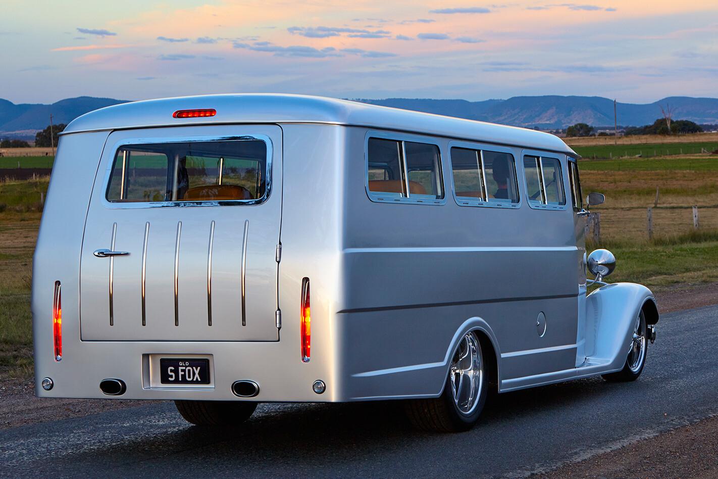 Silver Fox bus