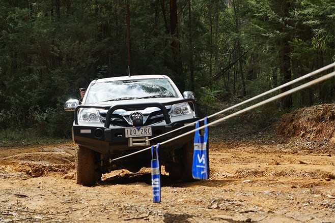Years of testing the VRS winches range