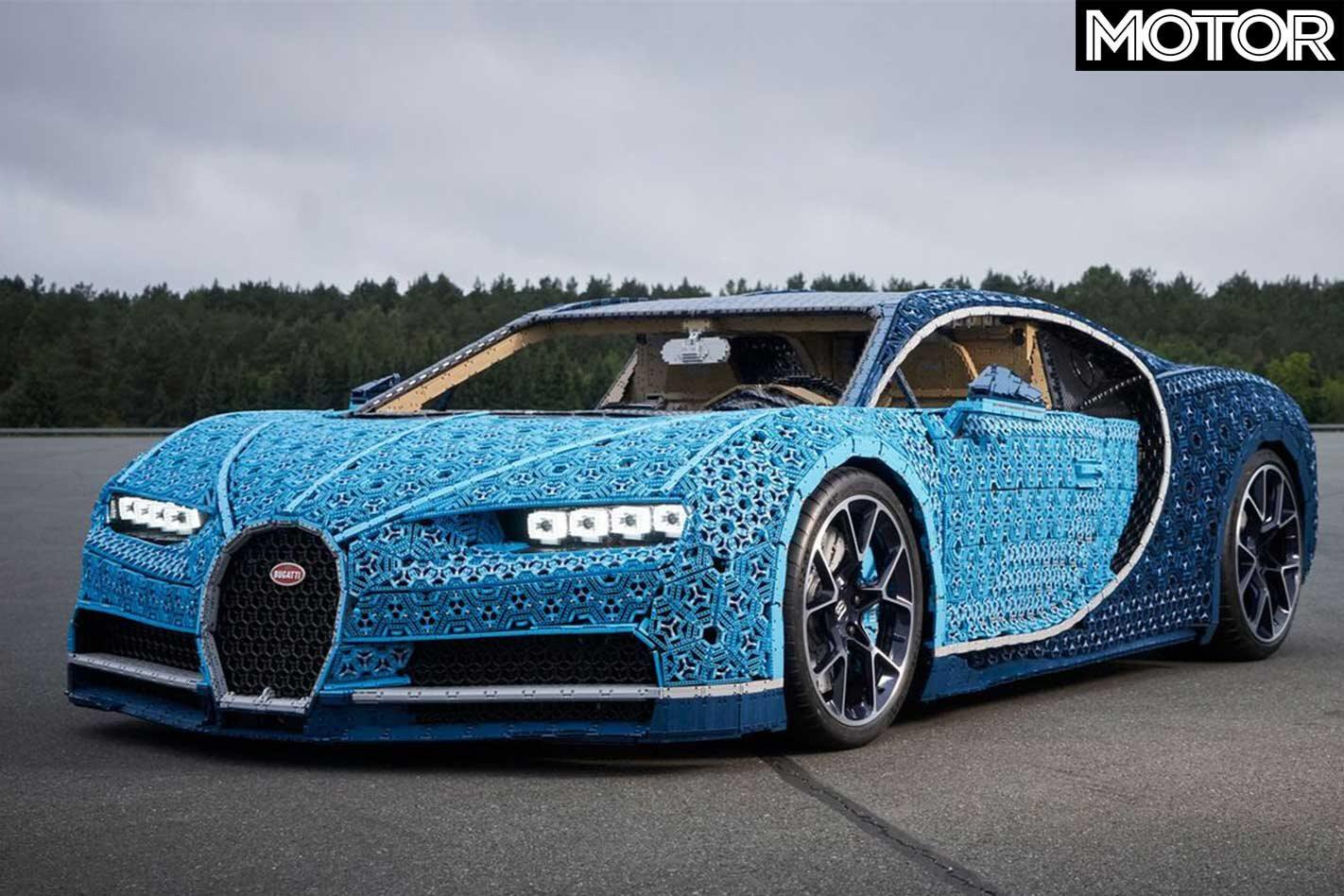 LEGO Life Sized Bugatti Chiron Front 281 29 Jpg