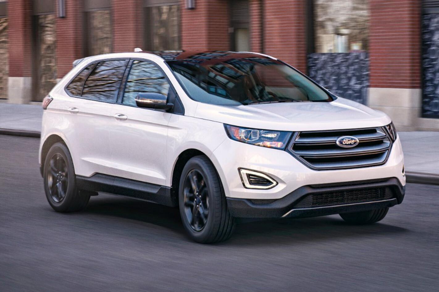 2017 Ford Edge (US model shown)