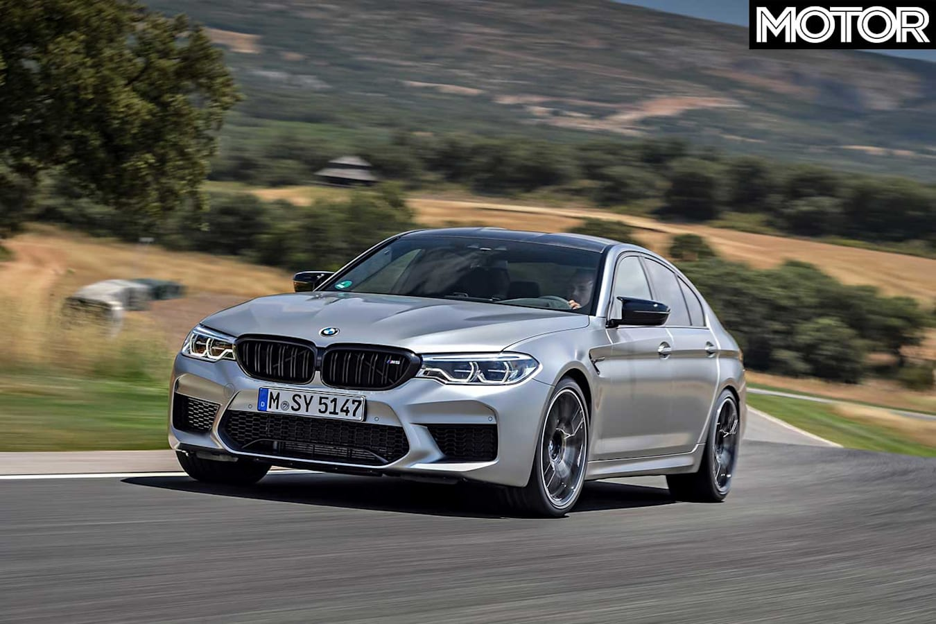 2018 BMW M 5 Competition Front Cornering Jpg