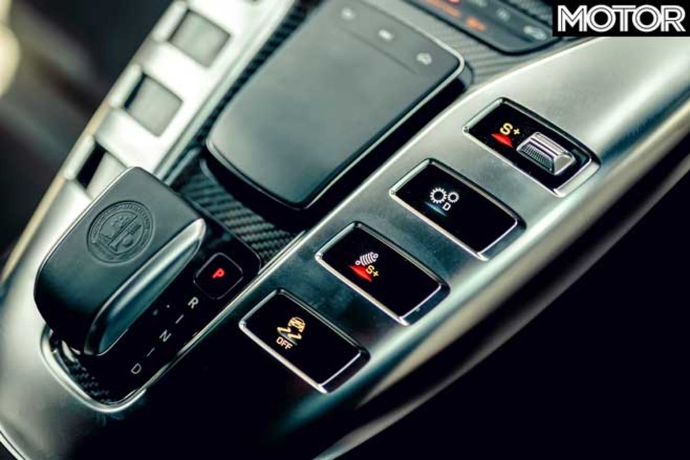PCOTY 2020 Mercedes AMG GT 63 S Centre Console Jpg